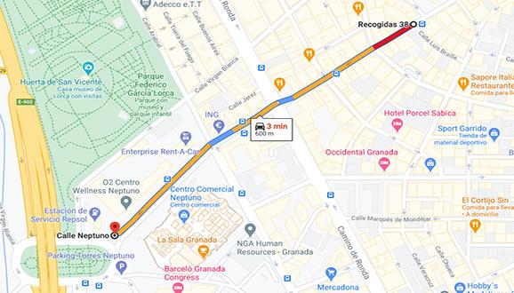 mapa salida